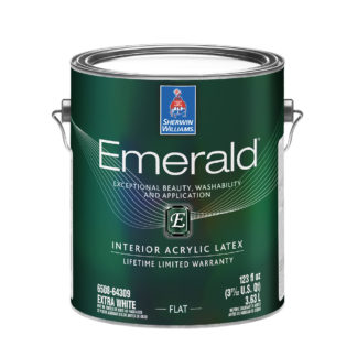 Emerald Interior Acrylic Latex Paint Flat 1 Gallon