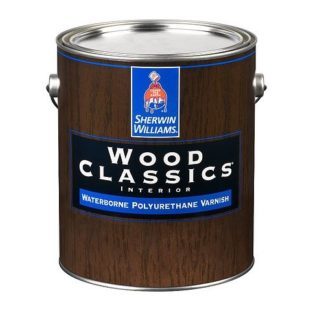 Sherwin Williams Wood Classics Waterborne Polyurethane