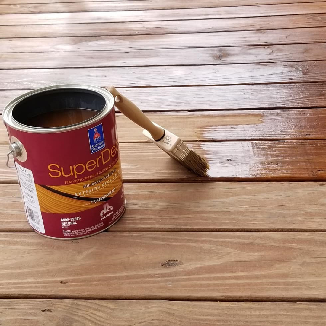 Sherwin-Williams SuperDeck Exterior Oil-Based Semi-Transparent Stain