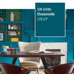 SW 6496 Oceanside