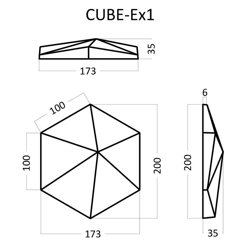 Artpole CUBE Ex1