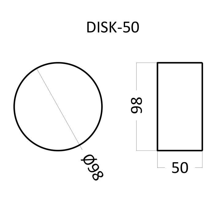 Artpole DISK 50