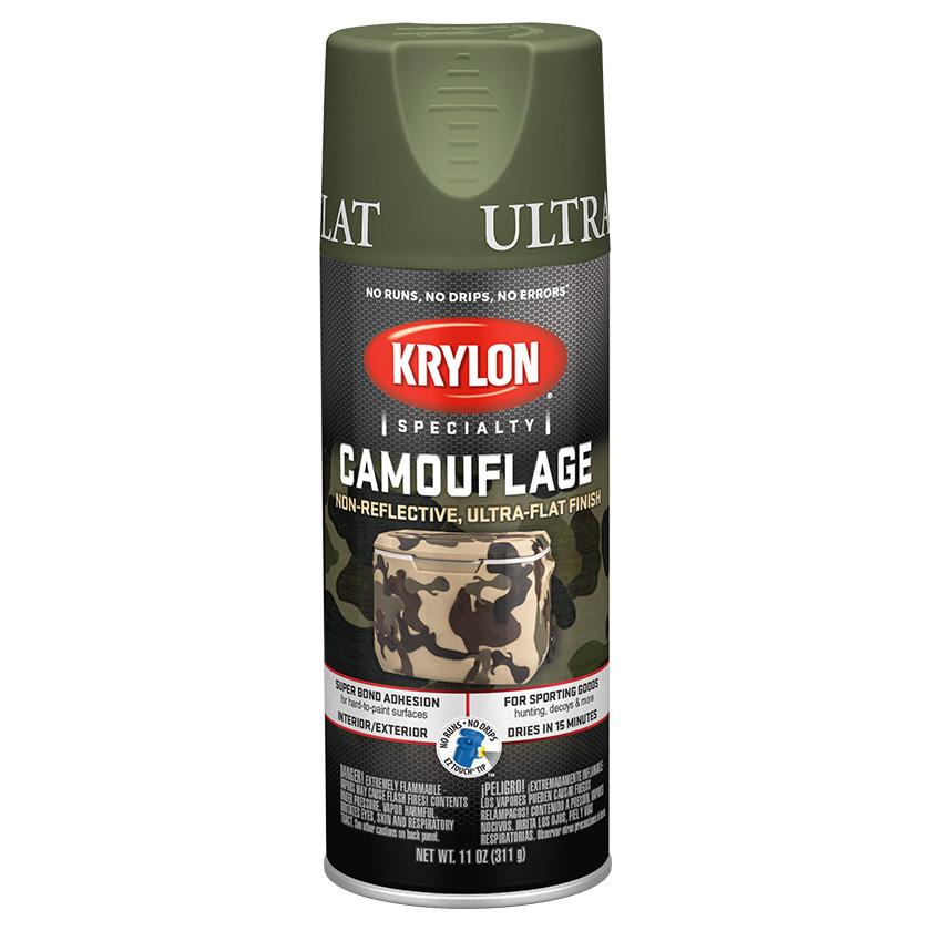 Krylon Camouflage Woodland Green 4296
