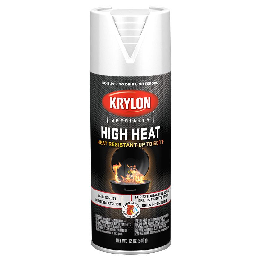 Krylon High Heat White 1505