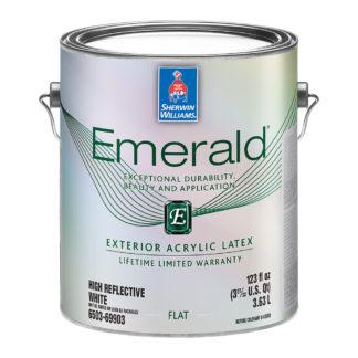 Sherwin-Williams Emerald Exterior Latex Flat