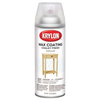 Krylon Chalky Finish Wax Natural 4118