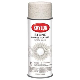 Krylon Coarse Stone Texture White Onyx 18213
