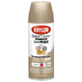 Krylon Colormaster Brushed Metallic Caramel Latte 51250