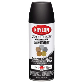 Krylon Colormaster Brushed Metallic Oil Rubbed Bronze 51254