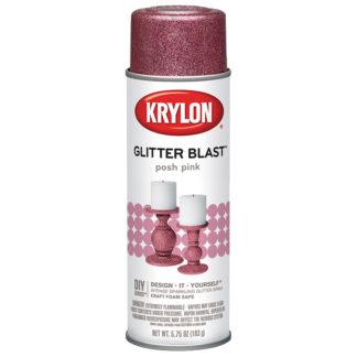 Krylon Glitter Blast Posh Pink 3812
