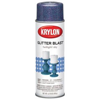 Krylon Glitter Blast Twilight Sky 3811