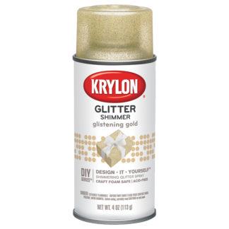 Krylon Glitter Shimmer Glistening Gold 401
