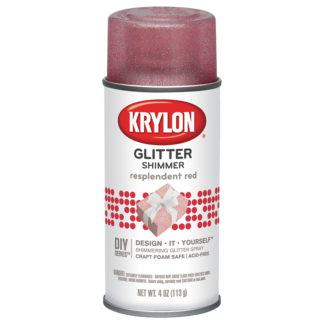 Krylon Glitter Shimmer Resplendent Red 403