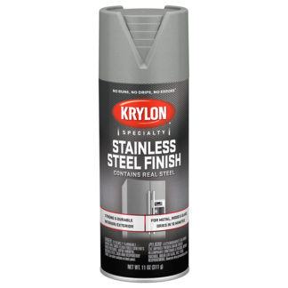 Krylon Stainless Steel Finish 2400