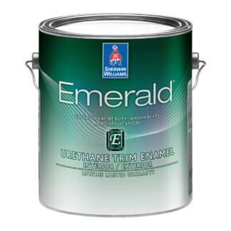 Sherwin-Williams Emerald Urethane Trim Enamel Interior Exterior