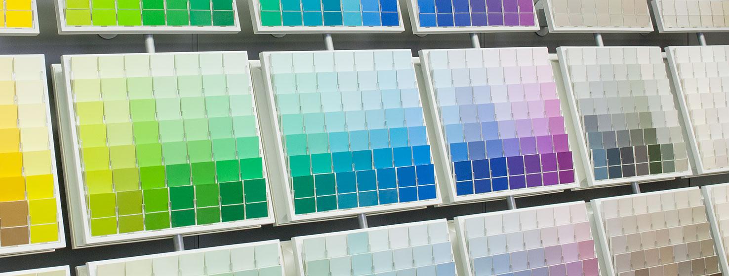 Выбрать краску Sherwin-Williams по степени блеска