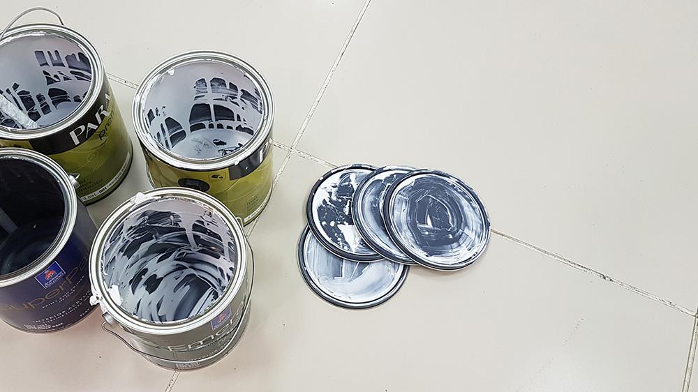 Хранение и утилизация краски