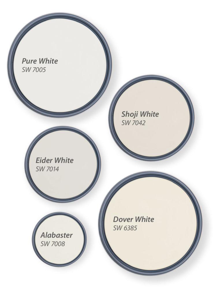 5 лучших оттенков белого