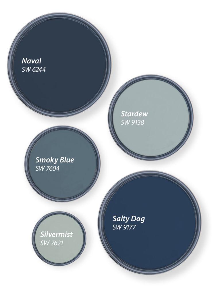 5 лучших оттенков синего