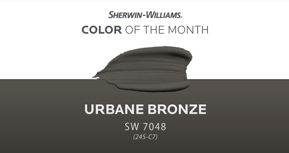 SW 7048 Urban Bronze