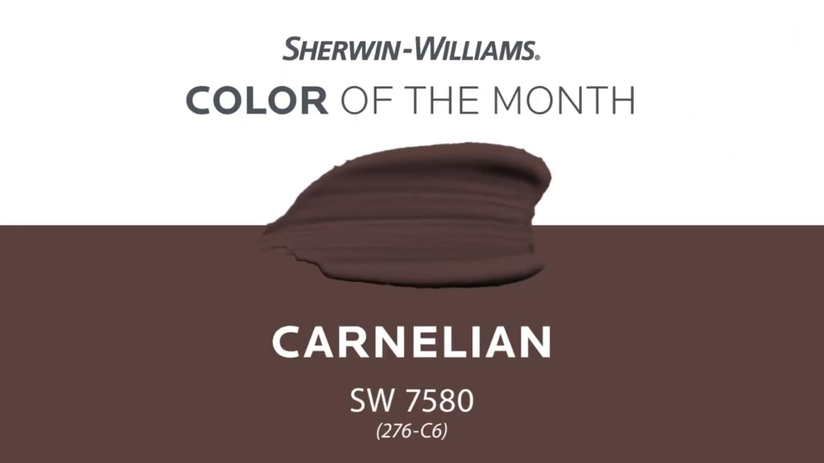 SW 7580 Carnelian