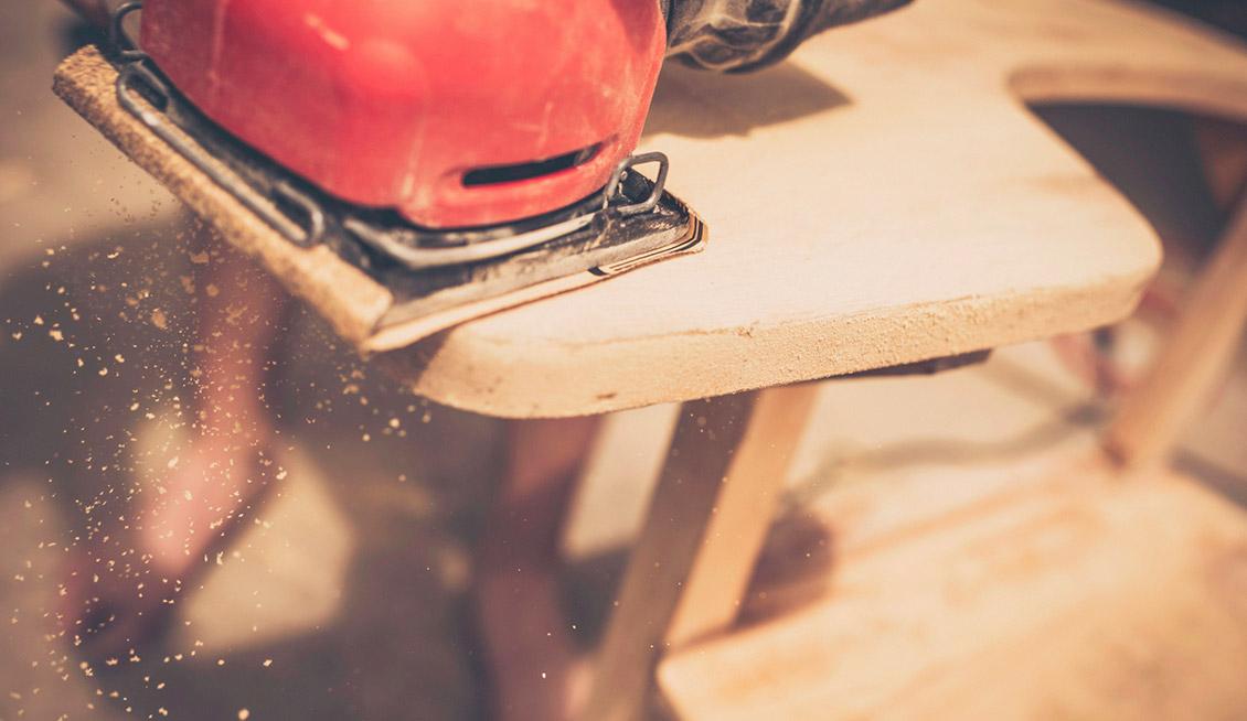 Ошибки при покраске деревянной мебели