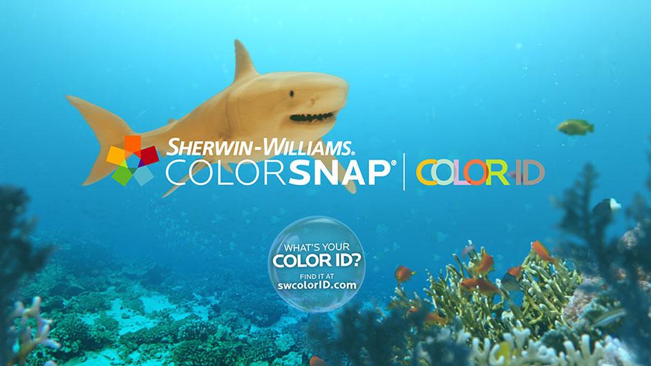 Sherwin-Williams красочные обитатели морей и океанов